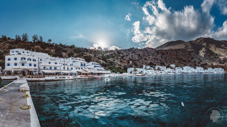 Loutro Kreta Griechenland Panorama