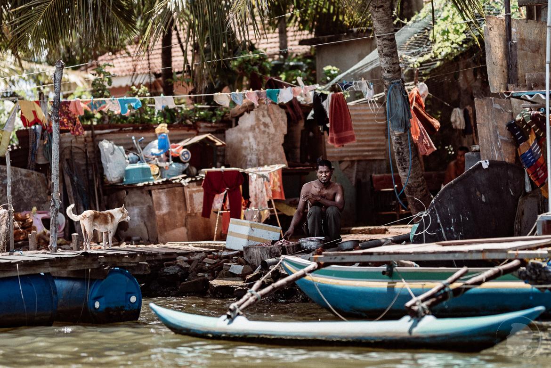 Fischsuppe - Negombo Sri Lanka