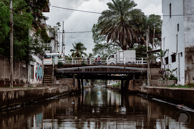 Kanal in Negombo Sri Lanka