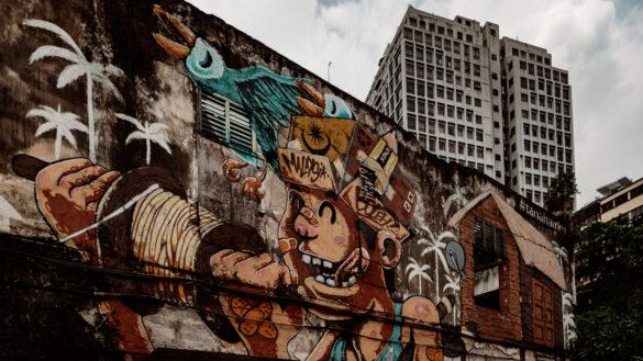 Kuala Lumpur Reisebericht Kuala Lumpur Street Art