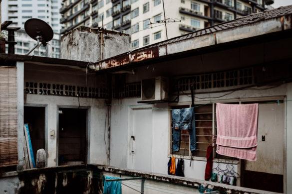 Der Flur meiner Nachbarn in Bukit Bintang