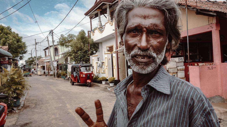 Negombo Fischerhafen Sri Lanka - Tour durch Tsunami geschädigtes Viertel