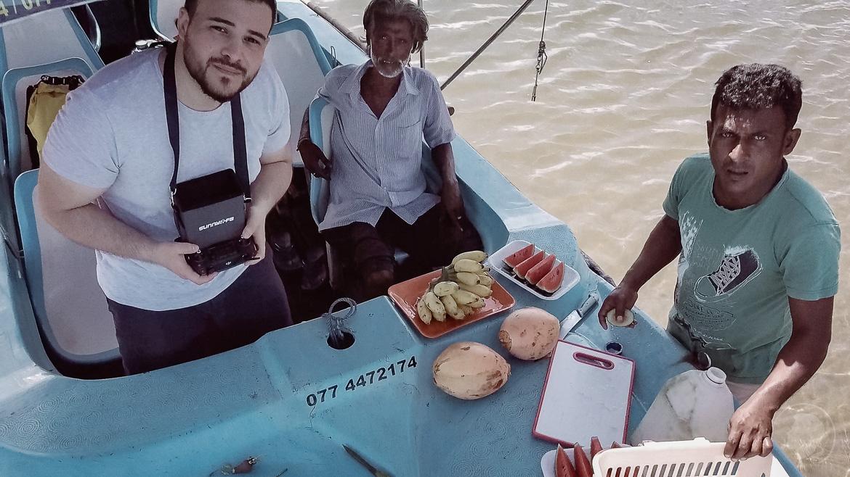 Obstzeit Negombo Lagune - Sri Lanka 3