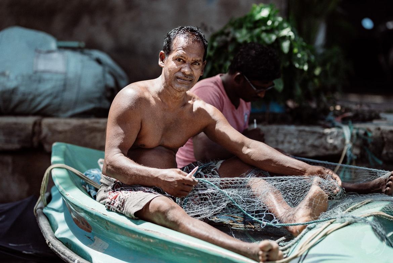 Fischer in Negombo Sri Lanka