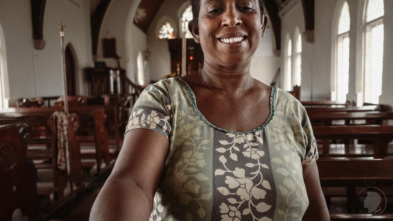 Negombo Sri Lanka - Private christliche Kirche