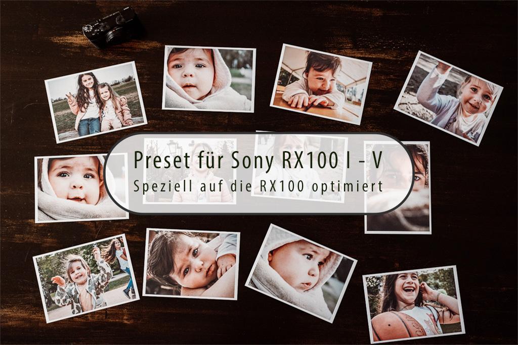Lightroom Preset Sony RX100