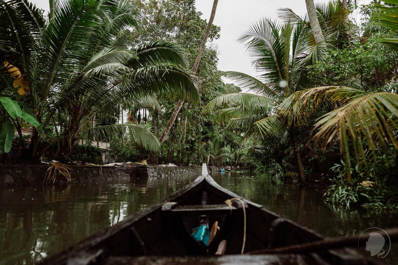 Indien Kerala Alappuzha Backwaters