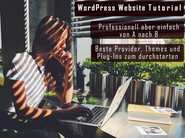 WordPress Website Erstellen Thumbnail
