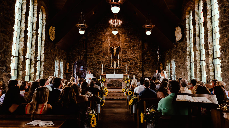 Hochzeit in Kirche