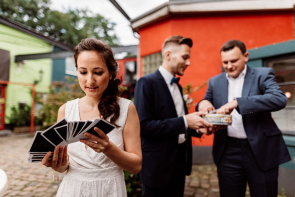 Sektempfang Hochzeitsfeier