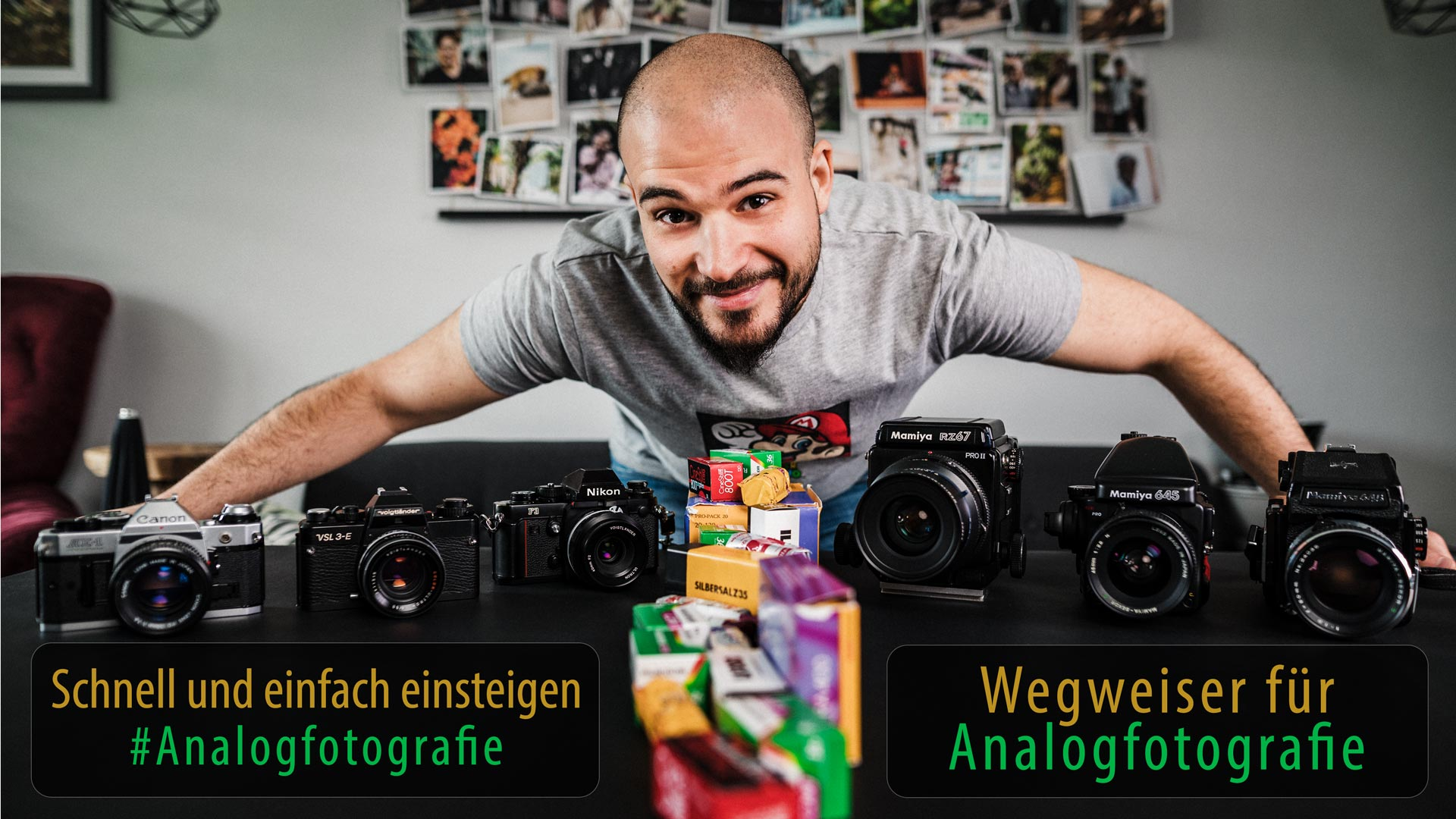 Einfach in die Analogfotografie einsteigen – Tipps, Erfahrungen und Bilder