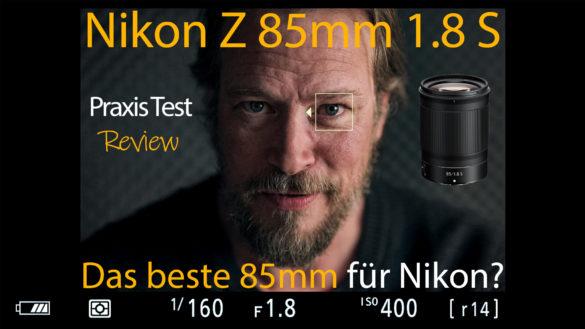 Nikon Z 85mm Test Review
