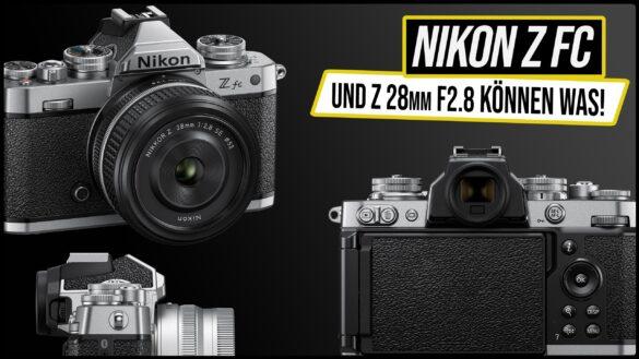 Nikon Zfc vs Z50