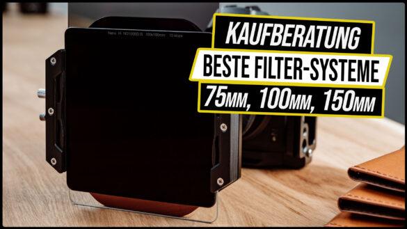 Bestes 100mm Filter System und Set - Kaufberatung