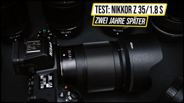 Nikon Z 35mm 1.8 S Test Vergleich Review Erfahrungen vs Sigma 35mm 1.4 ART