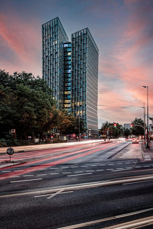 Tanzende Türme Hamburg Reeperbahn 1 - by Lichtrebell - STRABAG Real Estate
